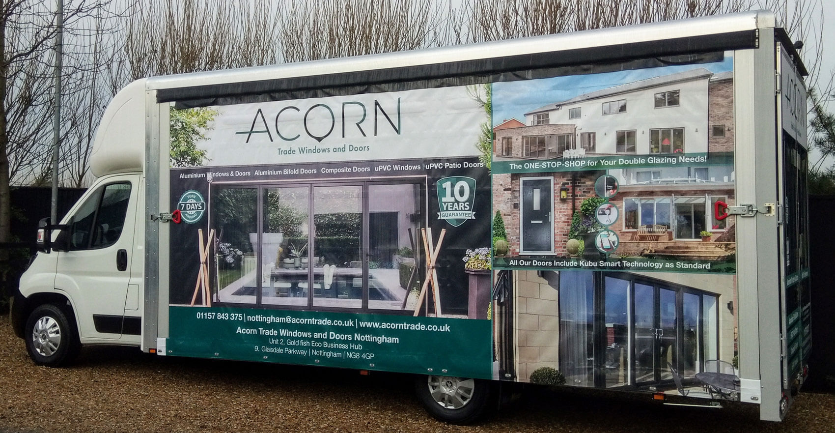 Acorn Trade Windows and Doors: Hitting the Nottingham Roads!