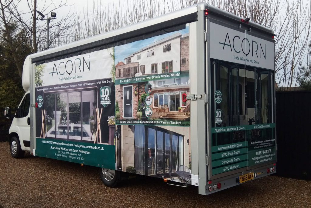 Acorn Nottingham Counter's New Vans
