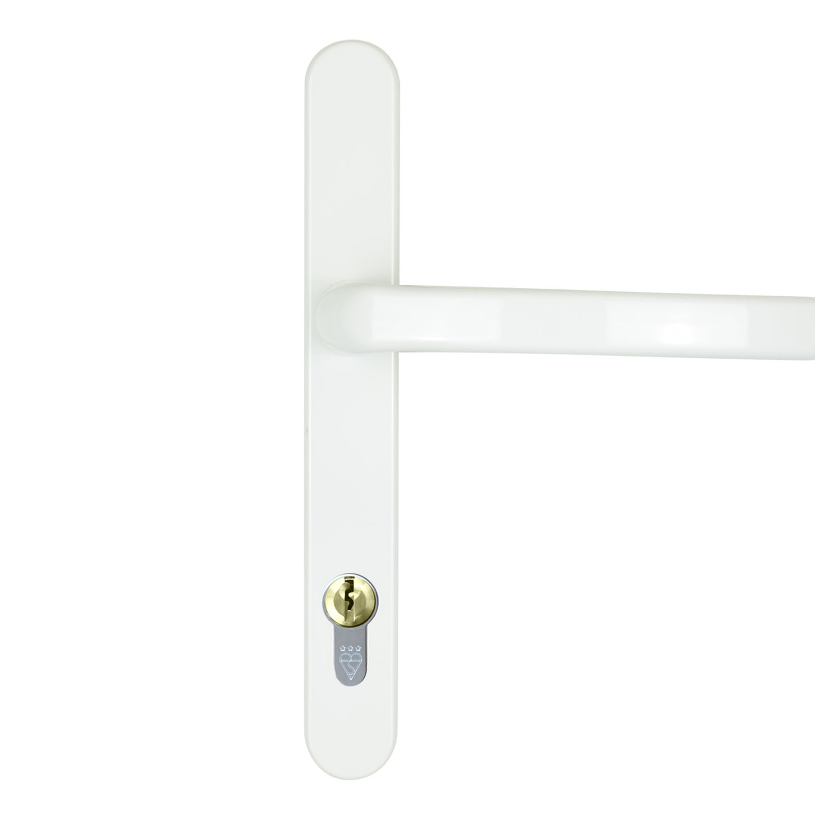 White DDA Handle